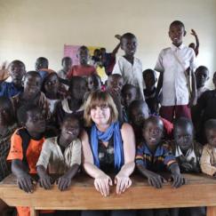 Emma Scullion Kampala. Uganda